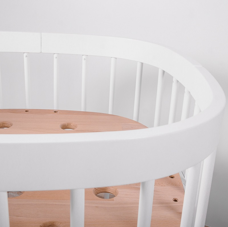 Babybett COMFORT SET (inkl. Schaumkern Matratze)