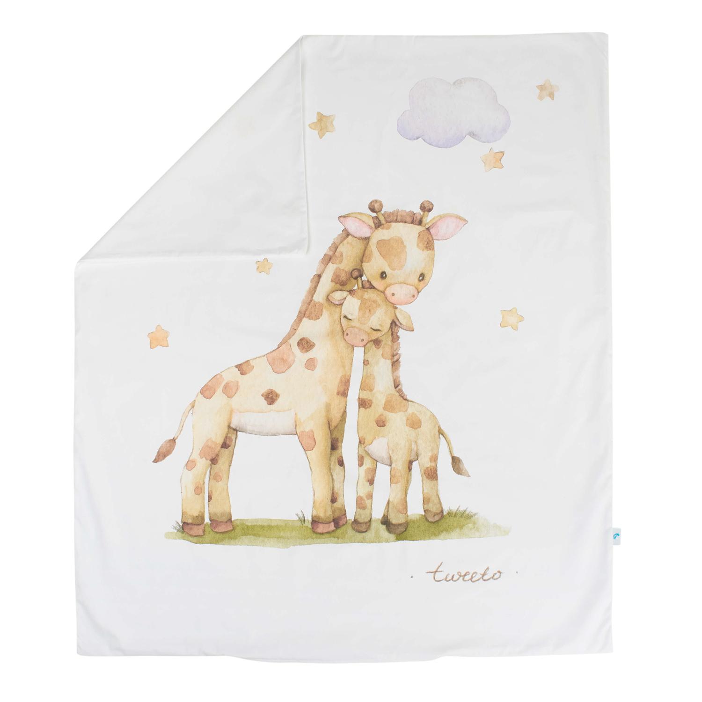 Kinderbettwäsche-Set Safari 2-teilig