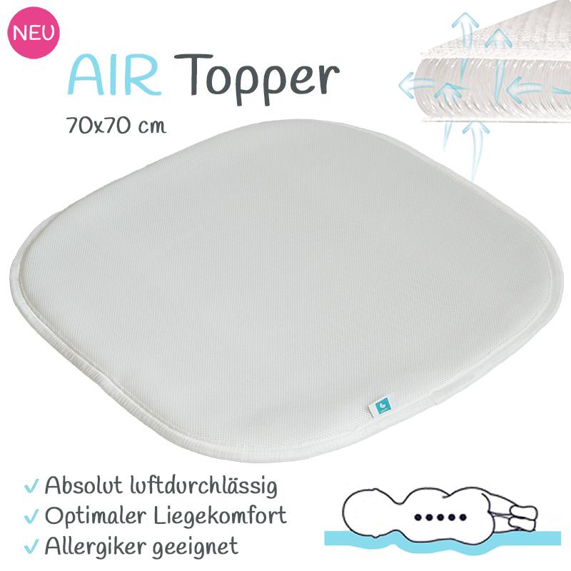 tweeto AIR-Topper 70x70 - Matratzentopper