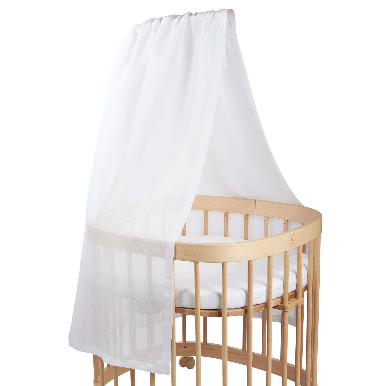 tweeto Babybett Himmel - Weiß