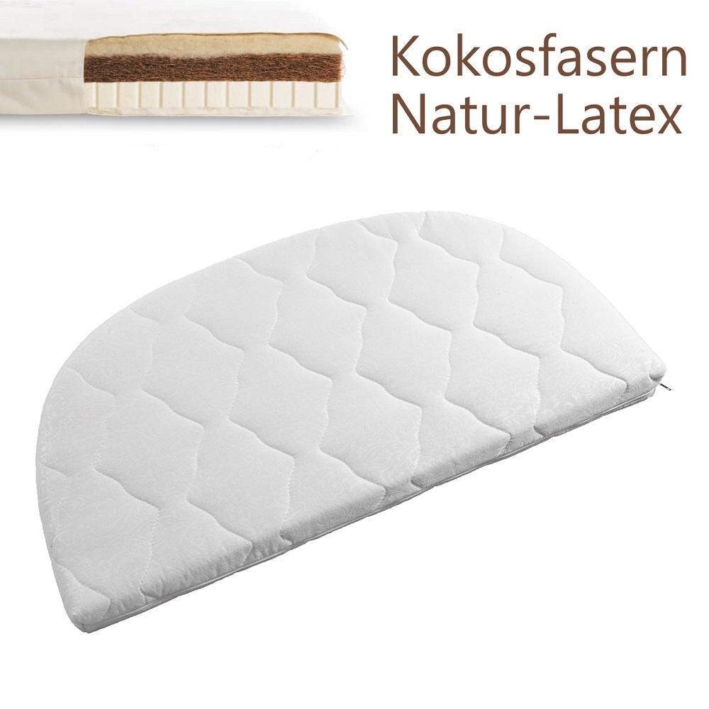 tweeto Wende-Matratze für Beistellbett Kokos-Naturlatex 35x70