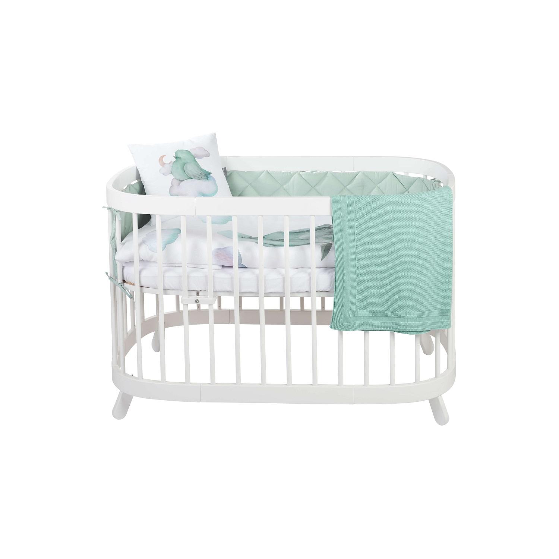 tweeto Babybett Nestchen - RIO - mint
